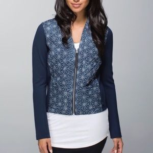 LULULEMON Cardigan and Again - Sashiko Star